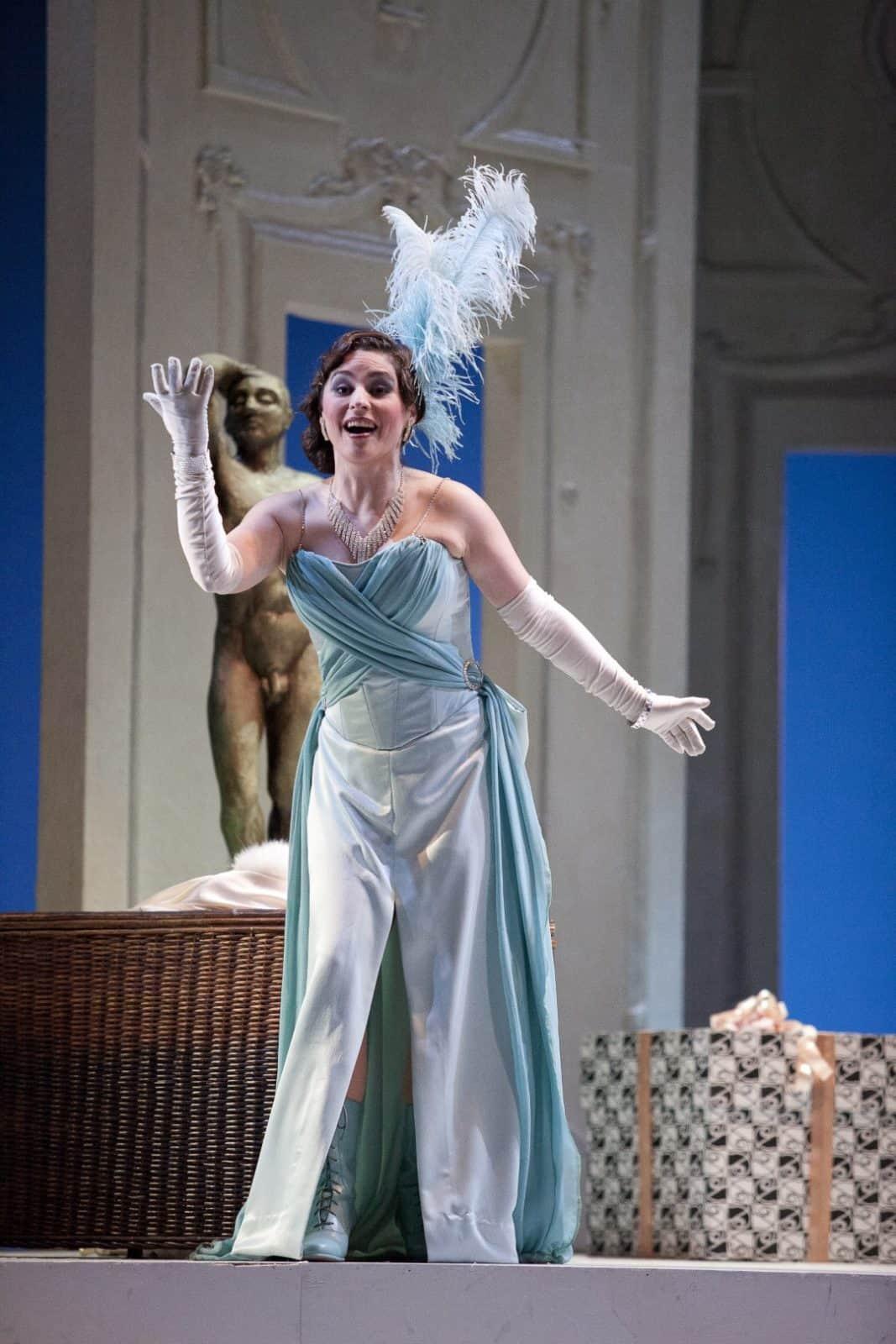 """Norina"" de la ópera Don Pasquale de G. Donizetti"