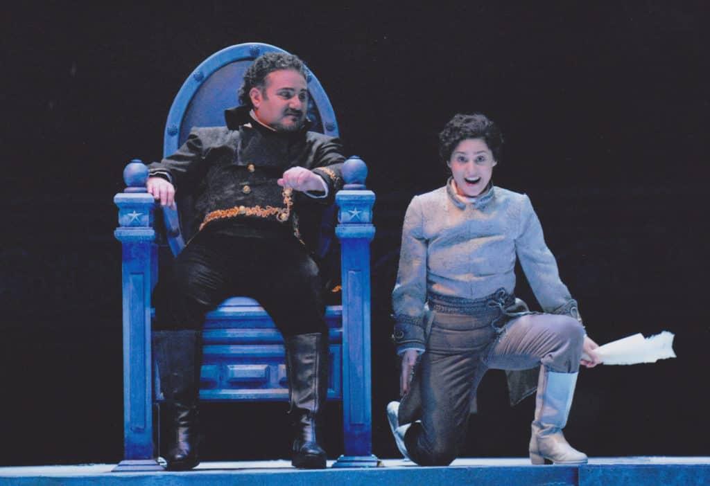 """Ópera """"Un ballo in Maschera"""" de G. Verdi ."""